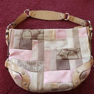 Coach patchwork bag hard to find